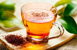 Чай ройбуш - прибыль равным образом вред