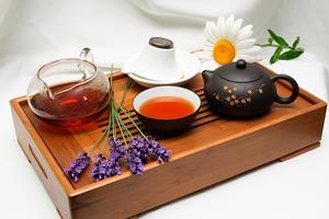 Заваривание китайского чая Да Хун Пао