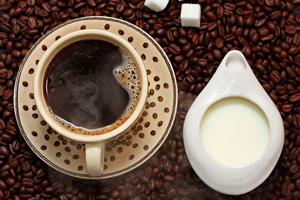 кофе со сливками и сахаром калорийность