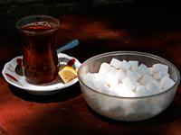 калорийность разных чаев с добавками: сахаром, медом, молоком и т.д.