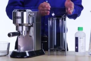 чистка кофемашин с автоматическим удалением накипи