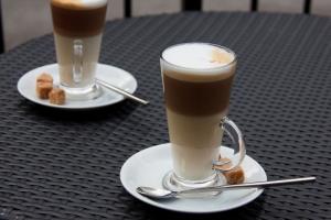 как приготовить латте-макиато в кофемашине