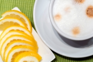 рецепт кофе с лимоном и коньяком