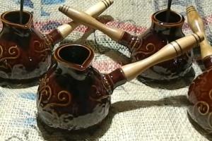 преимущества и недостатки керамической турки для кофе