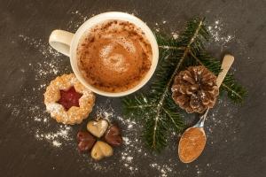 горячий шоколад с белым шоколадом