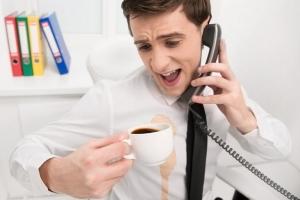 Как вывести пятно от кофе и чая с белой одежды