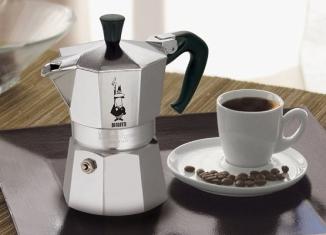 Обзор популярных моделей гейзерных кофеварок
