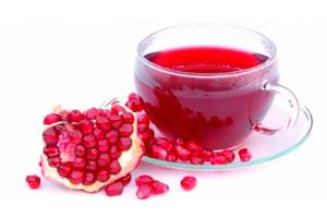чай из цветов и листьев граната