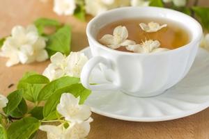 как заготовить цветки жасмина для чая