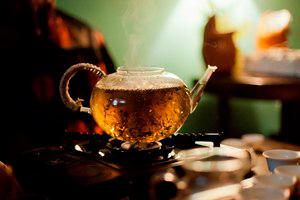 варка чая пуэр на воде