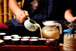 как готовить калмыцкий чай с молоком