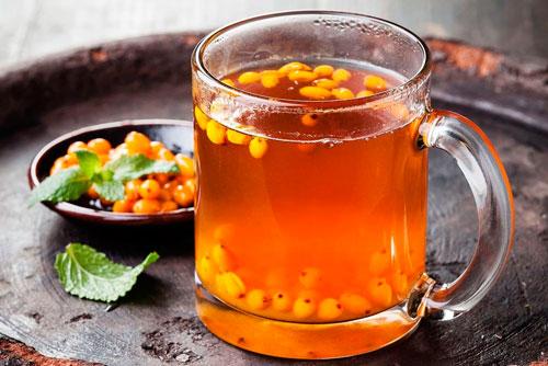 Облепиховый чай для беременных