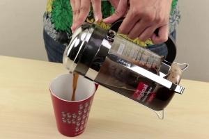 как заварить кофе во френч-прессе