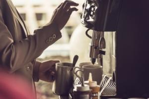 кофемашина для бара или гостиницы