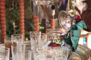 марокканская чайная церемония