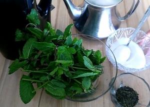 классический рецепт марокканского чая