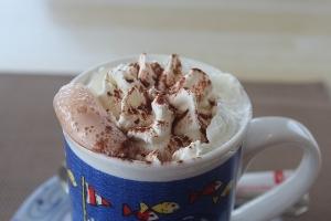 приготовление какао со сливками