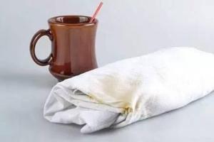 Как отстирать кофейные следы с белья