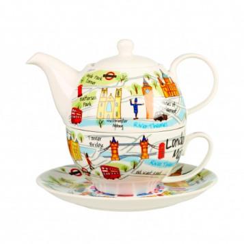 Набор для чая Churchill Карта Лондона (3 предмета)