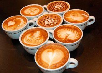 Как научиться рисовать на кофе