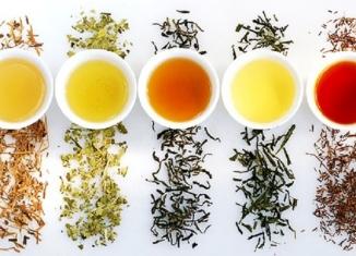 Виды китайского чая и их описание