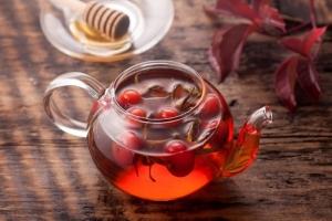 Витаминный чай из шиповника