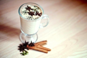 Пряный чай латте из Старбакс